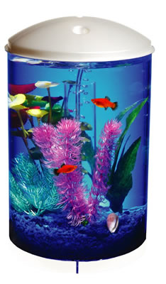 AquaView 360 Desktop Aquariums - 3 Gallon