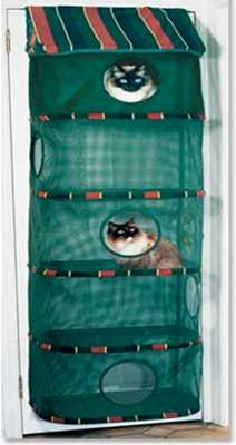 KittyWalk Cozy Climber - Green