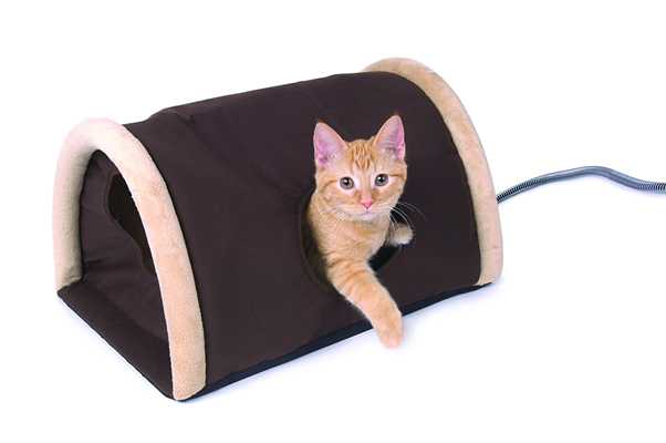 K and H Outdoor Heated Kitty Camper