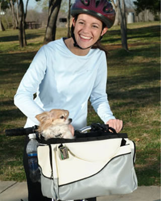 Solvit Deluxe Tagalong Pet Bicycle Basket